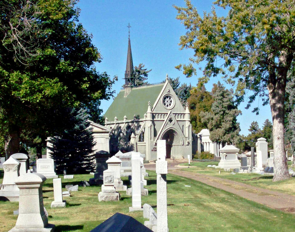 Fairmount Cemetery in Denver